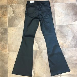 Topshop Jeans - NWT Topshop Sateen High Rise Flare Jeans 28